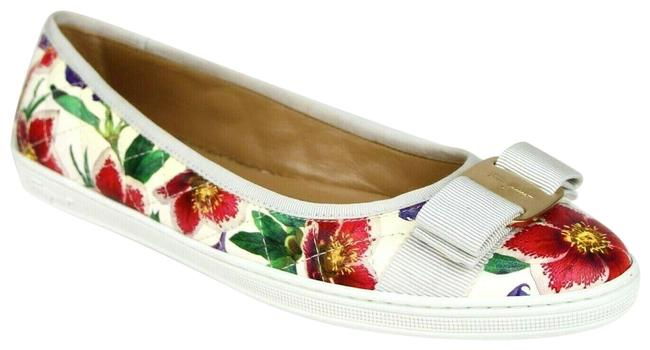 Item - White/Multi-color Women's Rufina White/Multi-color with Bow 7c 0685583 Flats Size US 7 Regular (M, B)