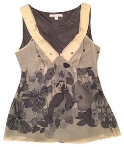Rebecca Taylor Top Ivory And Grey