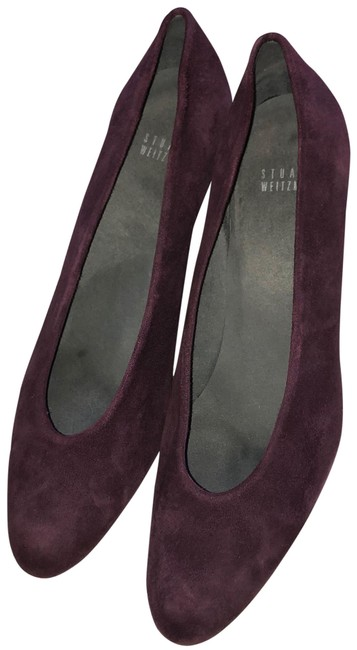 Item - Bordeaux Suede Chic Pumps Formal Shoes Size US 9.5 Regular (M, B)