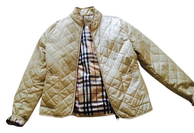 Preload https://img-static.tradesy.com/item/2664616/burberry-light-gold-london-quilted-spring-jacket-size-4-s-0-0-650-650.jpg