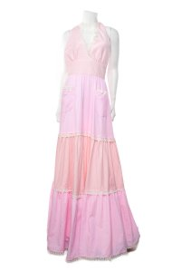 Pink Maxi Dress by Luisa Beccaria