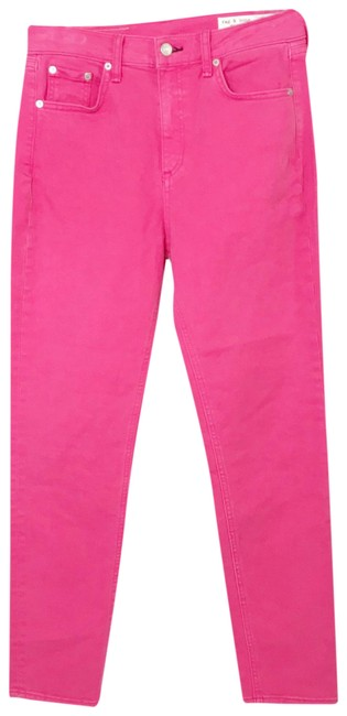Item - Bull Pink High Rise Skinny Jeans Size 4 (S, 27)