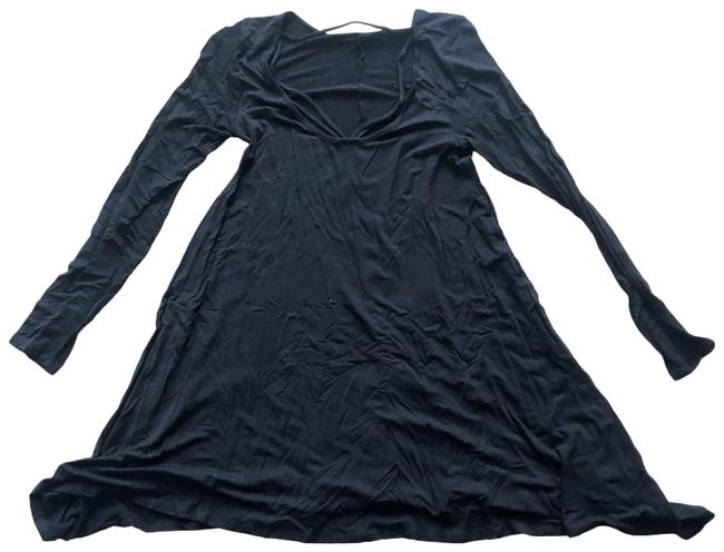 Item - Black Like New Longsleeve Mid-length Short Casual Dress Size 8 (M)