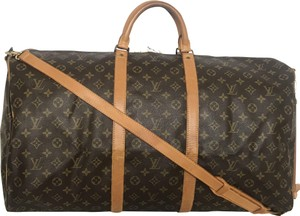 Louis Vuitton Keepall Keepall 60 Bandouliere Keepall Bandouliere Brown Travel Bag