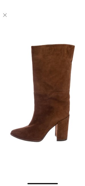 Item - Brown Straighten Boots/Booties Size US 6 Regular (M, B)
