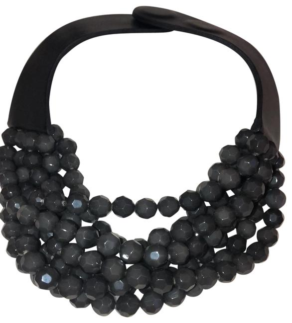 Baldwin Black and Charcoal Fair Child Necklace Baldwin Black and Charcoal Fair Child Necklace Image 1