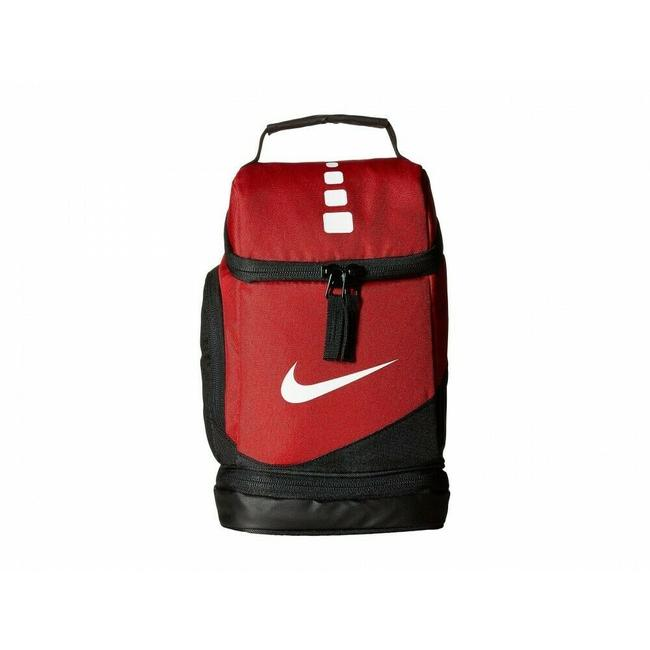 Item - Unisex Elite Fuel Pack- Insulated Lunch Red/Black Polyurethane Coated Polyester Tote