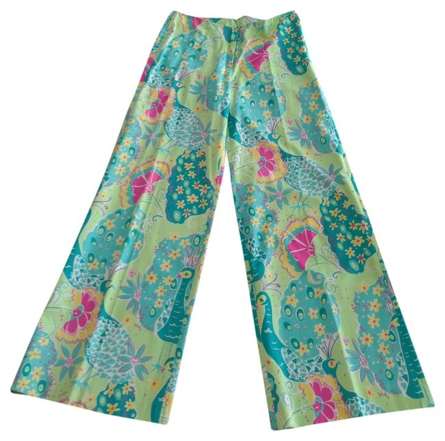 Item - Multicolor Peacock Pants Size 4 (S, 27)