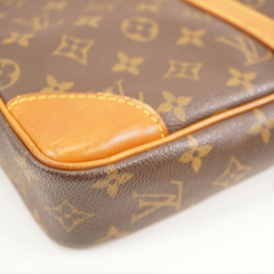 Louis Vuitton Brown Messenger Bag Image 6