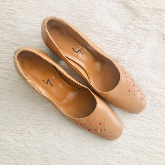 Bally Tan Pumps Image 2