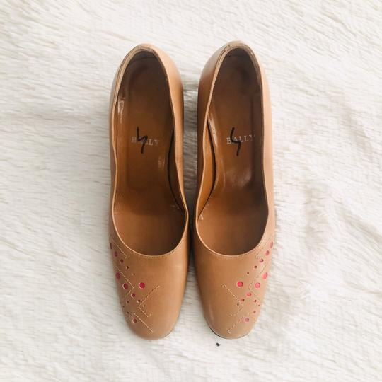 Bally Tan Pumps Image 3