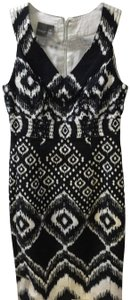 Muse short dress Black and White on Tradesy