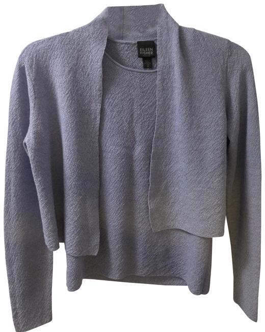 Preload https://img-static.tradesy.com/item/26649497/eileen-fisher-blue-cardigan-size-petite-4-s-0-1-650-650.jpg