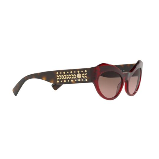 Versace Violet Brown Gradient Lens VE 4356 388/14 Butterfly Women's Image 2