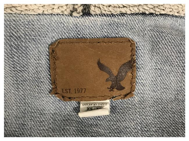 American Eagle Outfitters Light wash/Gray Womens Jean Jacket Image 1