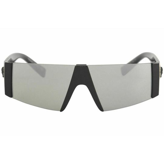 Versace Gray / Silver Mirrored Lens VE/4360 GB1/6G Shield Unisex Image 1