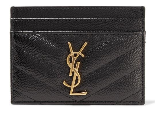 Preload https://img-static.tradesy.com/item/26649543/saint-laurent-new-ysl-quilted-card-case-new-black-leather-clutch-0-0-540-540.jpg