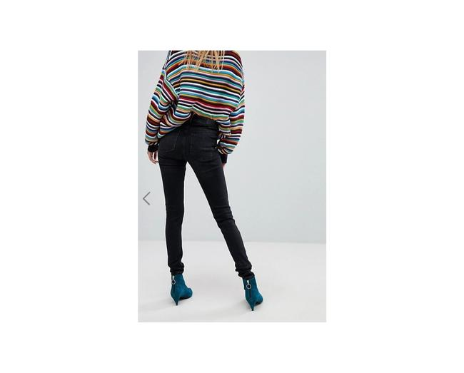 ASOS Skinny Jeans-Coated Image 1