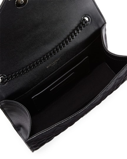 Saint Laurent Ysl Clutch Pouch Monogram Tote in Black Image 11