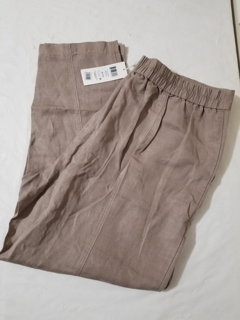Eileen Fisher Relaxed Pants Mocha Image 2