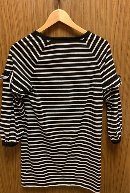 Gap short dress Black and off-white striped on Tradesy Image 1