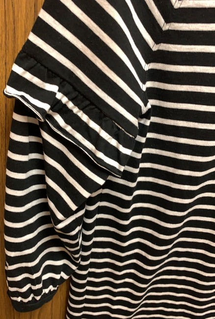 Gap short dress Black and off-white striped on Tradesy Image 5