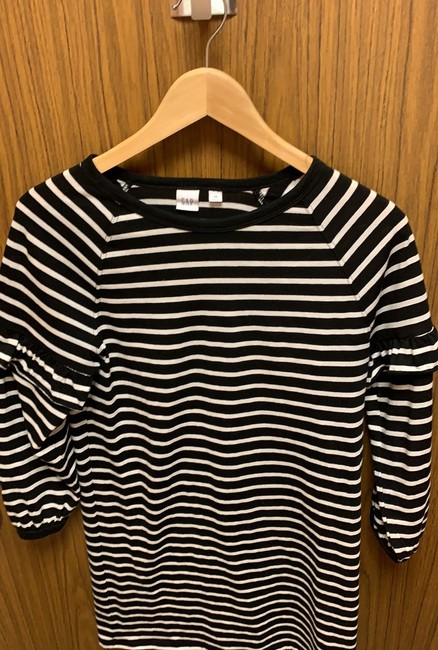 Gap short dress Black and off-white striped on Tradesy Image 6