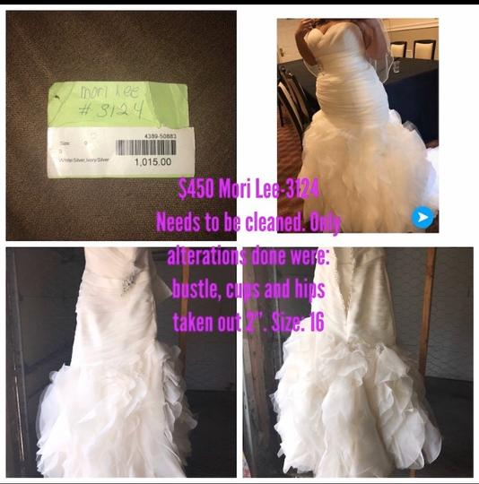 Mori Lee 3124 Modern Wedding Dress Size 16 (XL, Plus 0x) Image 0