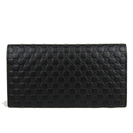 Preload https://img-static.tradesy.com/item/26649623/gucci-black-clutch-new-leather-microguccissima-bifold-card-case-wallet-0-0-540-540.jpg