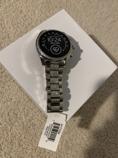 Michael Kors Michael Kors Access Bradshaw 2 Smartwatch, Silver Brand New in Box Image 1