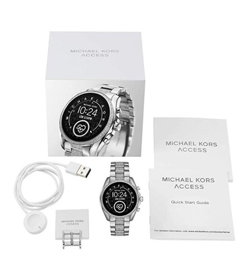 Michael Kors Michael Kors Access Bradshaw 2 Smartwatch, Silver Brand New in Box Image 3
