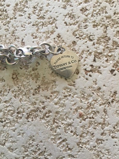 Tiffany & Co. Authentic Sterling Silver 925 Tiffany & Co Heart Tag bracelet Image 1