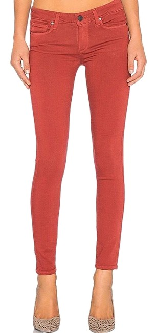 Item - Verdugo Ankle Red Skinny Jeans Size 4 (S, 27)