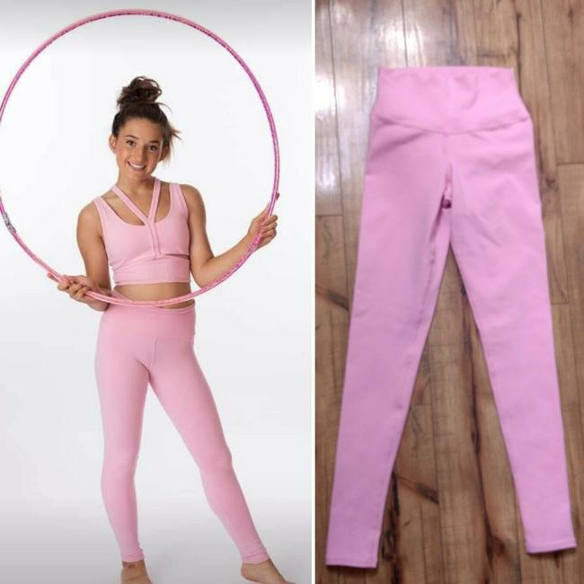 Alo Yoga Workout High Waisted Athletic Stretch Pants Leggings Sport Image 1