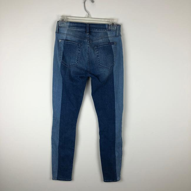 7 For All Mankind Skinny Jeans-Light Wash Image 8