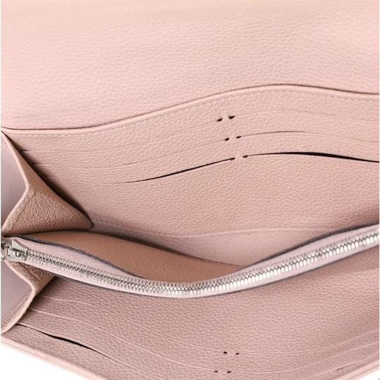 Louis Vuitton Wallet Leather Wristlet in pink Image 5