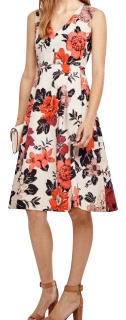 Preload https://img-static.tradesy.com/item/26649687/ann-taylor-multicolor-sun-drenched-floral-mid-length-cocktail-dress-size-6-s-0-1-650-650.jpg
