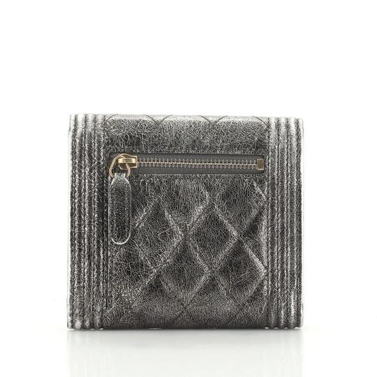 Chanel Wallet Leather brown metallic Clutch Image 2