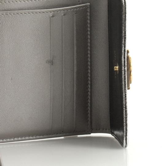 Chanel Wallet Leather brown metallic Clutch Image 5