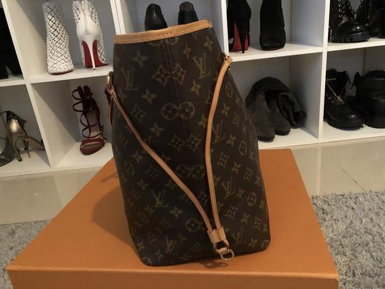 Louis Vuitton Louisvuittonneverful Neverfull Louisvuittonspeedy Neverfullgm Tote in Brown Image 3