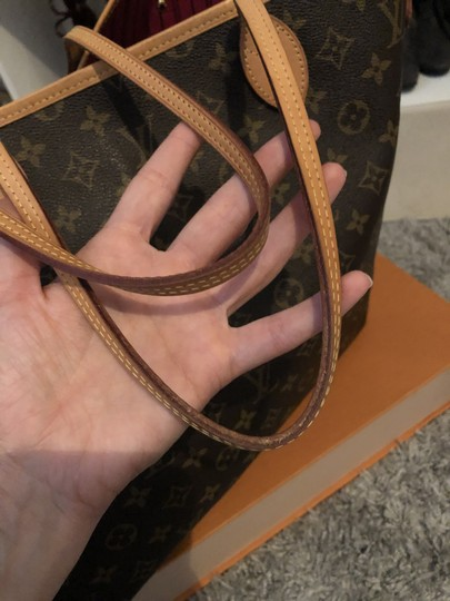 Louis Vuitton Louisvuittonneverful Neverfull Louisvuittonspeedy Neverfullgm Tote in Brown Image 8
