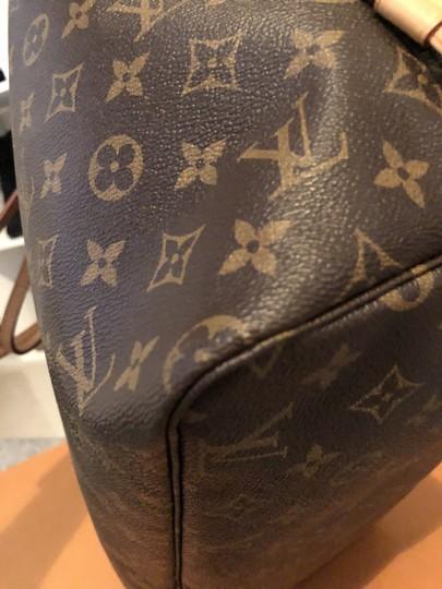 Louis Vuitton Louisvuittonneverful Neverfull Louisvuittonspeedy Neverfullgm Tote in Brown Image 9