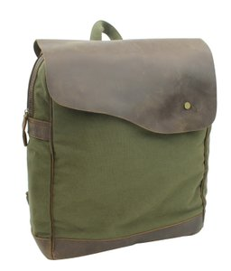 Vagarant Vintage Canvas Leather Casual Exclusive Backpack