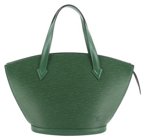 Louis Vuitton Handbag Leather Tote in green
