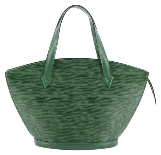 Louis Vuitton Handbag Leather Tote in green Image 0