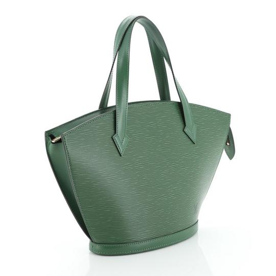 Louis Vuitton Handbag Leather Tote in green Image 1