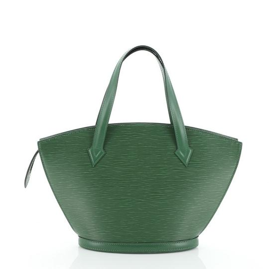 Louis Vuitton Handbag Leather Tote in green Image 2