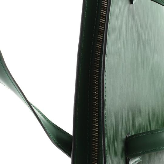 Louis Vuitton Handbag Leather Tote in green Image 4