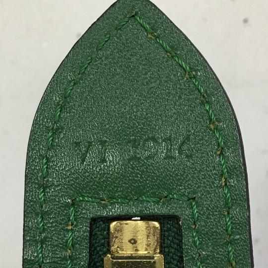 Louis Vuitton Handbag Leather Tote in green Image 6