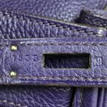 Hermès Handbag Leather Hobo Bag Image 10